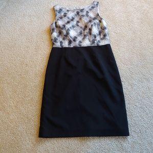 Ann Taylor petite work dress with pencil skirt